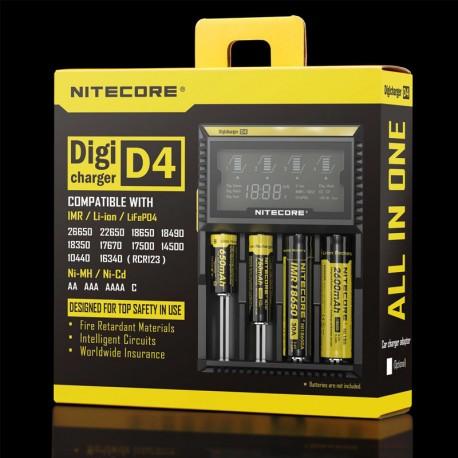 NITECORE D4 PIL DOLUM KITI (DIGICHARGER)