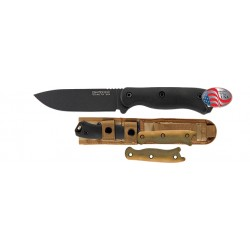 KA BAR BK16 SHORT DROP POINT BICAK