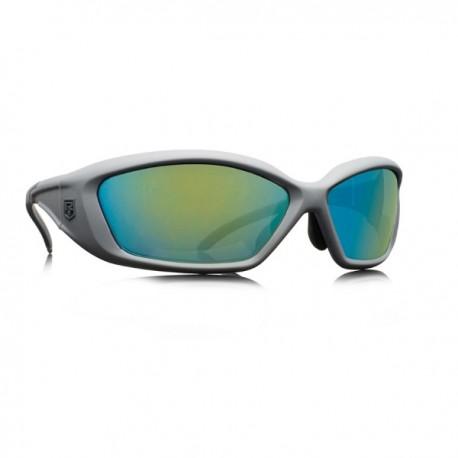 REVISION Hellfly Ballistic Sunglasses Frame/silver Lenses/ocean mirror )