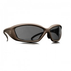 REVISION Hellfly Ballistic Sunglasses Frames/taupe Lens/smoke