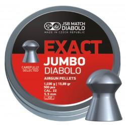 JSB DIABOLO JUMBO EXACT 5.51 MM HAVALI SACMA