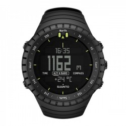 Suunto Core All Black (Denzel Washington's Watch In The Equalizer Movie).