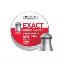 JSB MATCH DIABOLO HEAVY WEIGHT 4.5 MM HAVALI SACMA