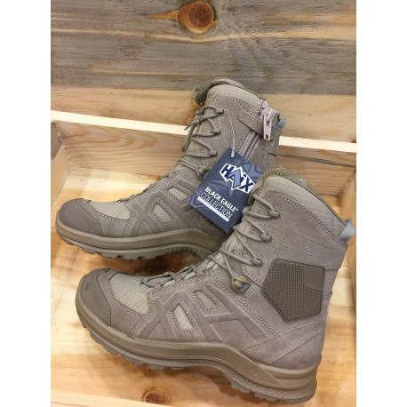(Yeni Model )HAIX Black Eagle Athletic 2.0 VT high/desert/Sidezipper