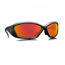 REVISION Hellfly Ballistic Sunglasses Frame/black Lenses/flame mirror