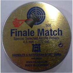 H N FINALE MATCH 4.49 CAL HAVALI TÜFEK SAÇMASI
