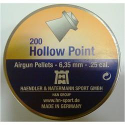 H N HOLLOW POINT 6.35  CAL HAVALI SAÇMA