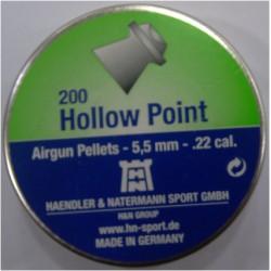 H N HOLLOW POINT 5.5 CAL  HAVALI SAÇMA